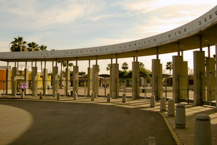 "Juan Rodriguez Cabrillo High School from ""The Fast and the Furious: Tokyo Drift"""
